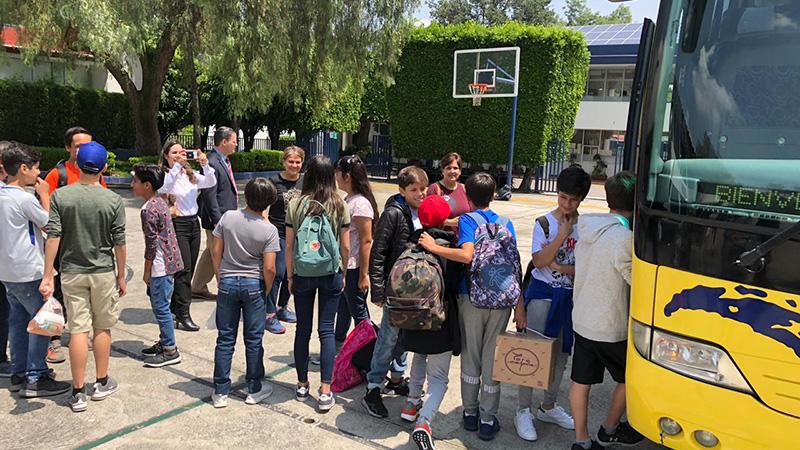 Camp Nacional de CISV en Morelos